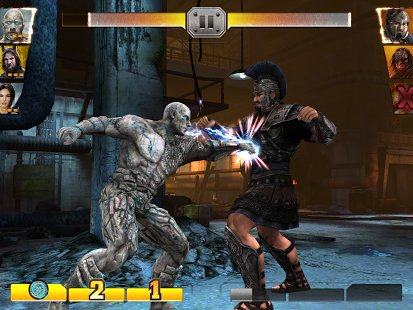 Скриншот WWE Immortals