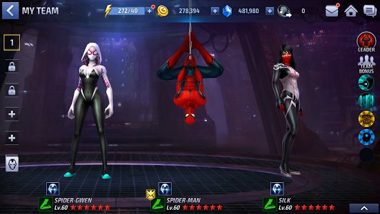 Скриншот MARVEL Future Fight