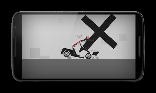 Скачать Stickman Dismount взломанную, убойные трюки рисованного человечка