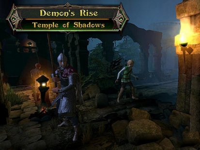 Скриншот Demon's rise: Temple of shadows