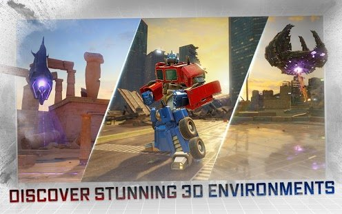 Скриншот TRANSFORMERS: Forged to Fight