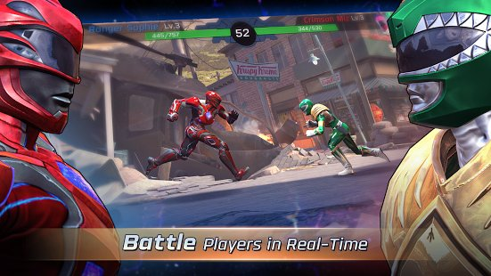 Скриншот Power Rangers: Legacy Wars