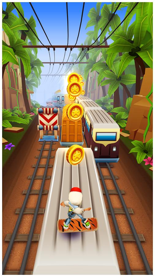Скачать игру Subway Surfers на Андроид бесплатно