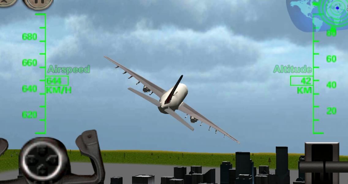 flight simulator скачать самолет: