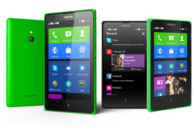 � ������� ���������� ������� 5-��������� Nokia XL �� Android