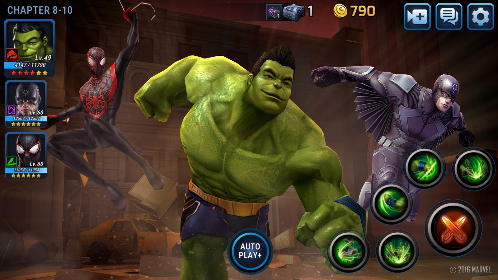 MARVEL Future Fight Android iOS Walkthrough - Gameplay ...