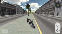 Fast Motorcycle Driver
