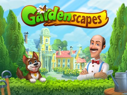 Скриншот Gardenscapes - New Acres