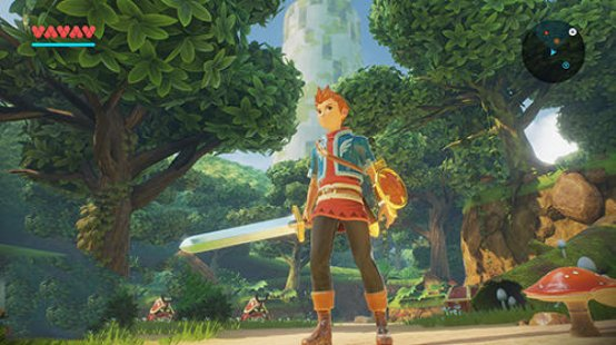 Скриншот Oceanhorn 2: Knights of the lost realm