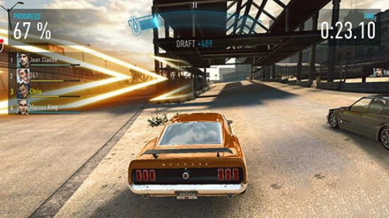 Скриншот Need For Speed EDGE Mobile