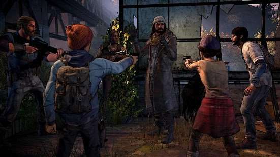 Скриншот The Walking Dead: A New Frontier
