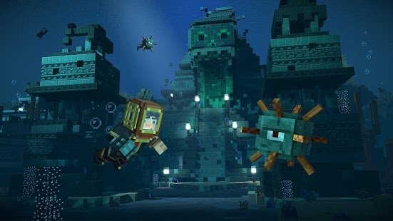Скриншот Minecraft: Story Mode - Season Two