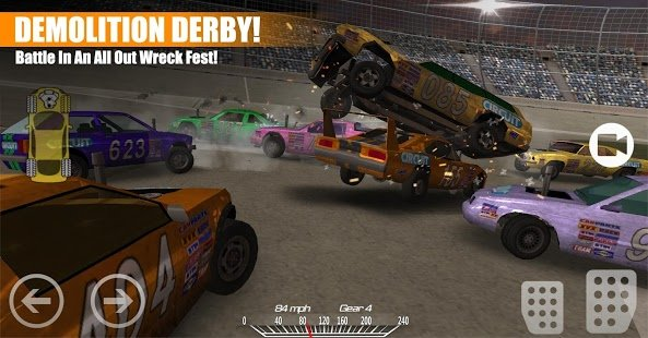 Скриншот Demolition Derby 2