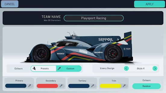 Скриншот Motorsport Manager Mobile 3