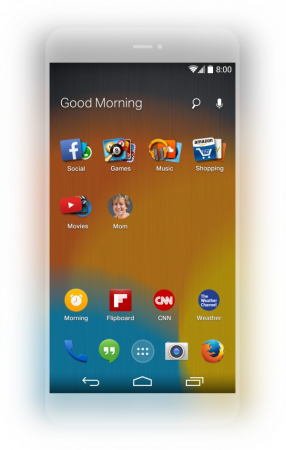 Mozilla удивила Android-лаунчером
