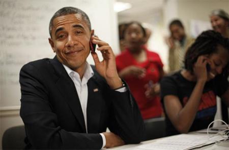 Барак Обама не прочь поменять BlackBerry на Android