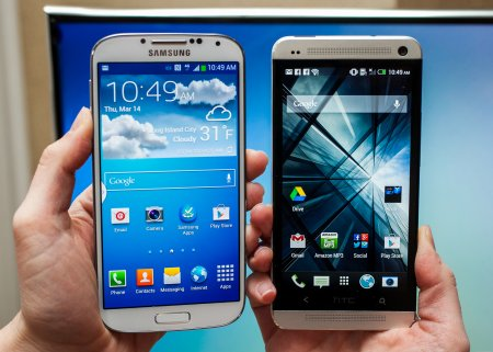 HTC назвала Galaxy S5 «дешевкой»