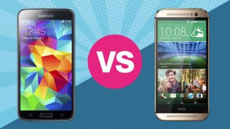 Названы 5 причин, по которым HTC One лучше Galaxy S5