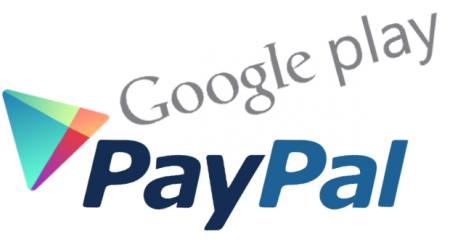 PayPal «прикрутили» к Google Play