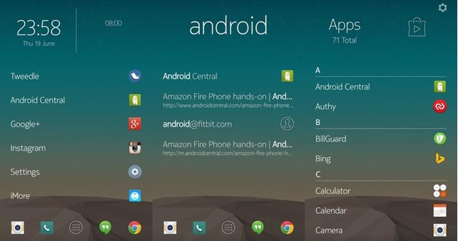 Nokia представила Z Launcher для Android