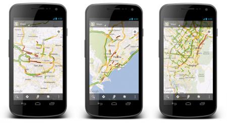 Google Карты для ОС Android скачали 1 млрд. раз