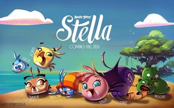 Объявлена дата выхода Angry Birds Stella