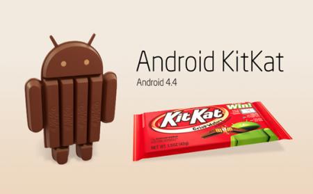 Версия KitKat впервые преодолела рубеж в 20%