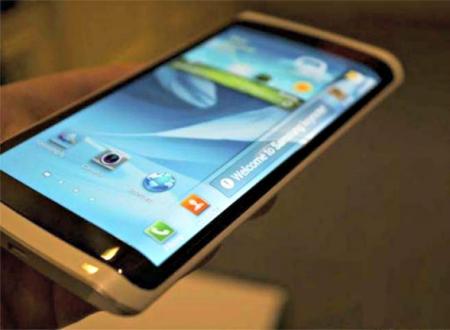Samsung запустила производство смартфона с трехсторонним дисплеем