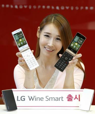 LG анонсировала «раскладушку» на Андроиде