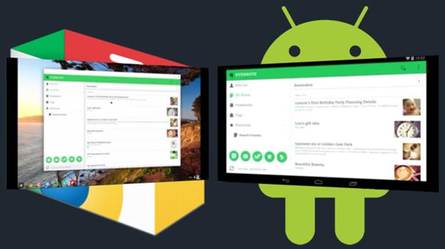 Android и Chrome OS могут стать одной ОС