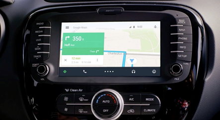 В сети появились первые API Android Auto