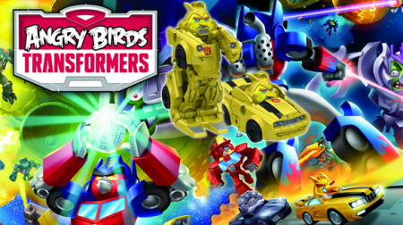 Angry Birds Transformers притопали на Android