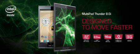 Представлен планшет MultiPad Thunder 8.0i с ламинированным экраном