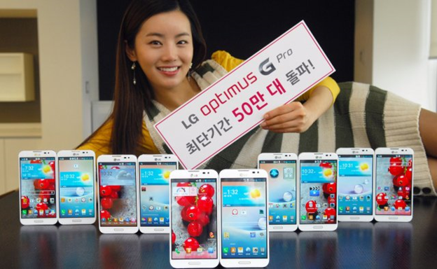 LG сворачивает производство линейки G Pro