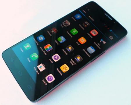 Alcatel представит смартфон с тремя ОС