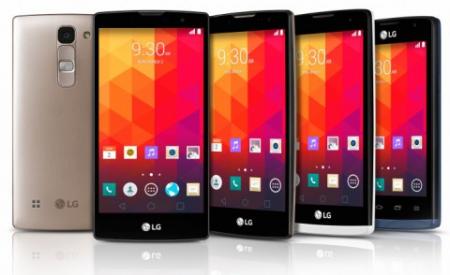 LG представила смартфоны Leon, Magna, Joy, Spirit