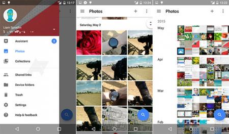 Google Photos станет самостоятельным приложением
