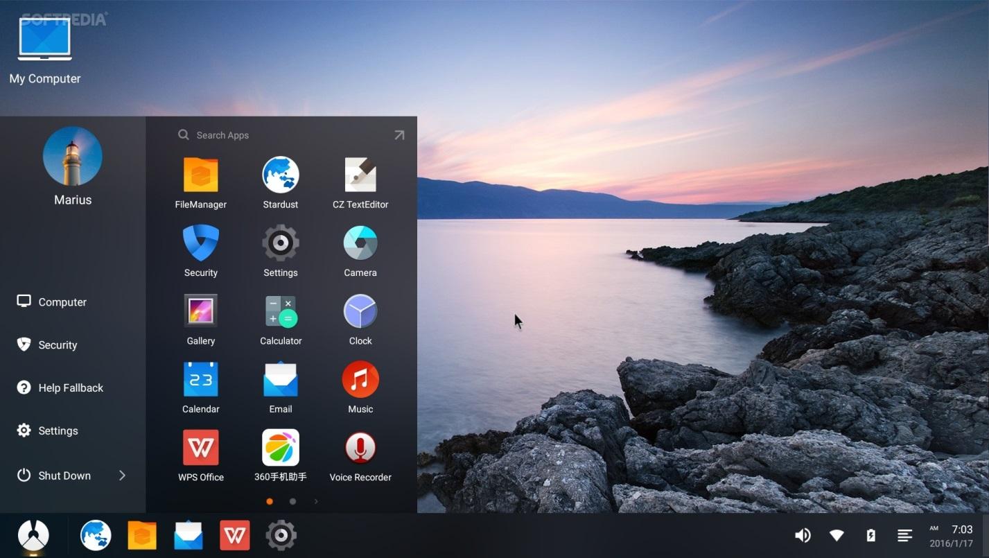 Сделанная на Android система Phoenix OS творит чудеса