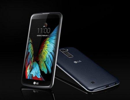 LG выводит в люди смартфоны К7 и К10