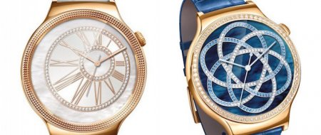 Swarovski и Huawei представили женские смарт-часы