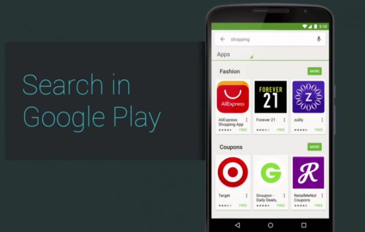 Android-приложения научили устанавливать из поиска