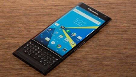 Продажи Android-смартфона BlackBerry не радуют