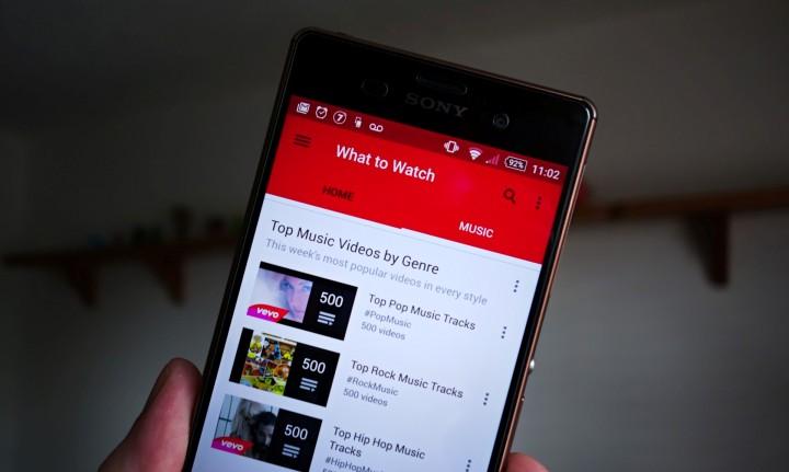 YouTube анонсировала трансляции на Android